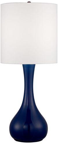 Monaco Blue Droplet Table Lamp - #4F470-Y5332 | Lamps Plus