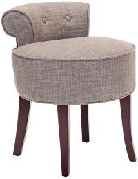 Seiling Tufted Petite Upholstered Vanity Stool - #4M399 ...