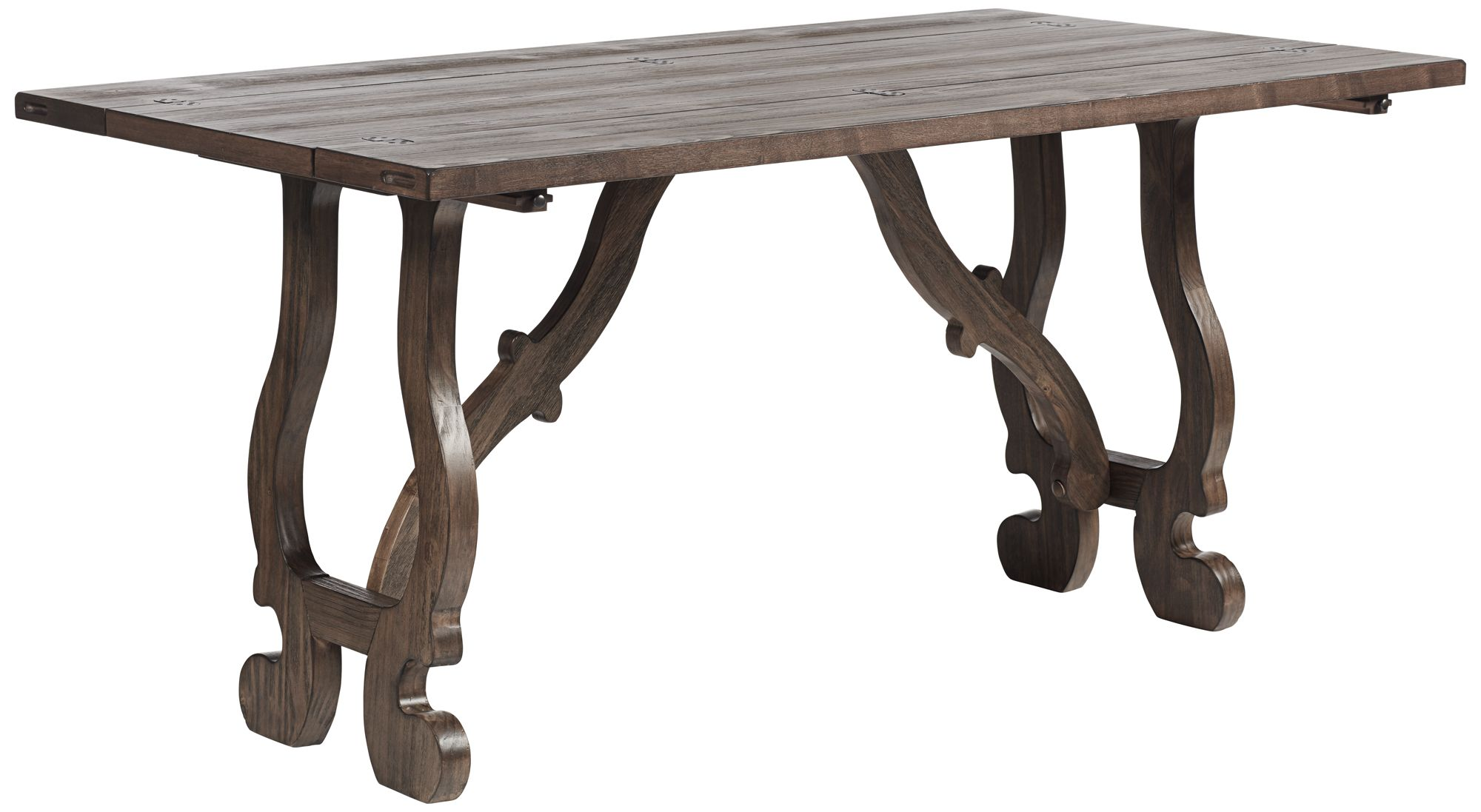 sofa console tables wood cane sofas bangalore coast to lamps plus canada orchard brown pine foldout table