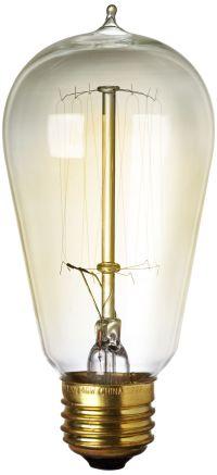 60 Watt Edison Style Medium Base Light Bulb - #5K420 ...