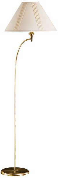 Parcin Antique Brass Mini Arc Floor Lamp