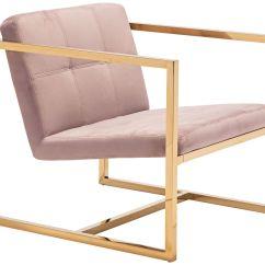 Velvet Tufted Chair 1 2 Covers Zuo Alt Pink Armchair 60d28 Lamps Plus