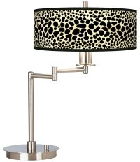 Leopard Giclee CFL Swing Arm Desk Lamp - #61495-1J483 ...