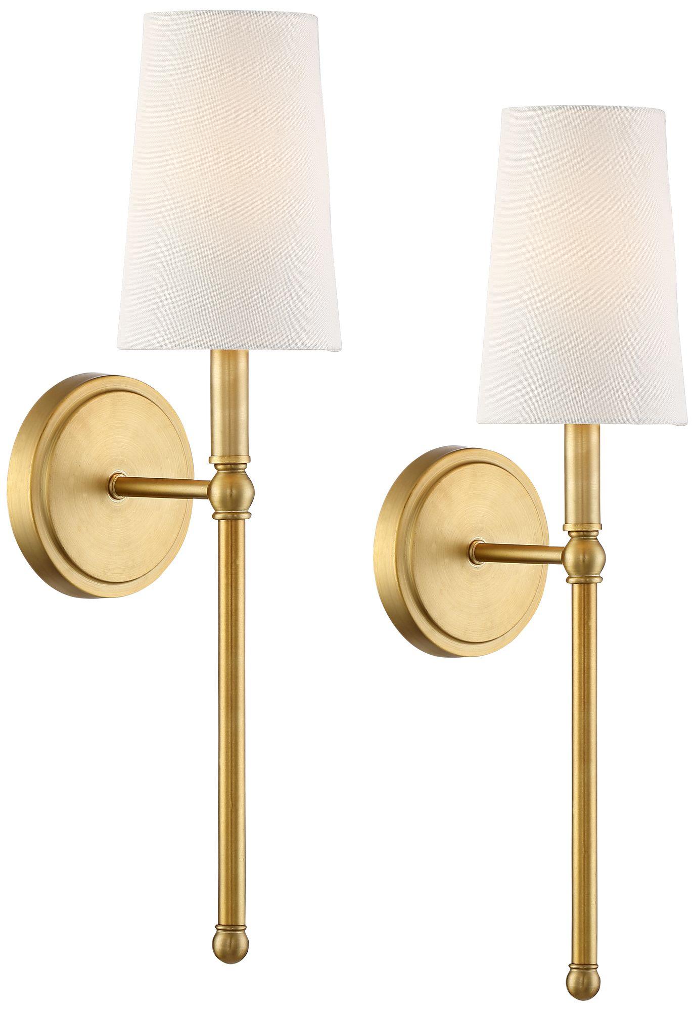 gold sconces lamps plus