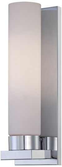 """Lite Source Kayla 13 1/2"""" High Frosted Glass Wall Sconce ..."""