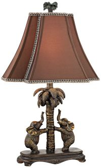 Set of Two English Bronze Buffet Lamps - #91524 | Lamps Plus