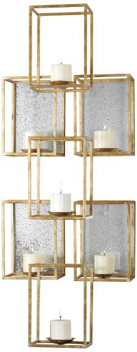 "Uttermost Ronana Wall Sconce 46 1/2"" High Metal Wall Decor ..."