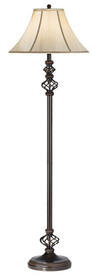 Wrought Iron Floor Lamp - #83244 | Lamps Plus