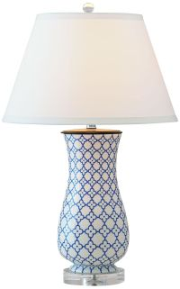 Port 68 Clover Hand-Painted Porcelain Table Lamp - #8G030 ...
