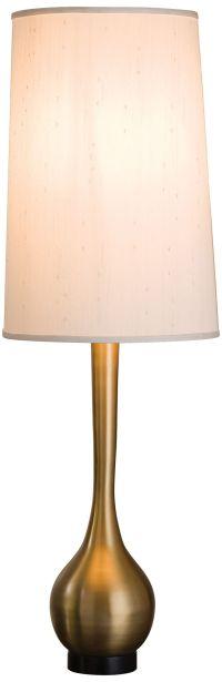 Bulb Vase Antique Brass Table Lamp - #8G617 | Lamps Plus
