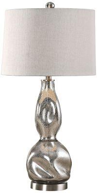 Uttermost Dovera Mercury Glass Table Lamp - #8K079 | Lamps ...