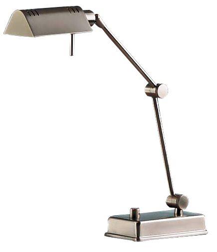 Holtkoetter Satin Nickel Pharmacy Desk Lamp  94308