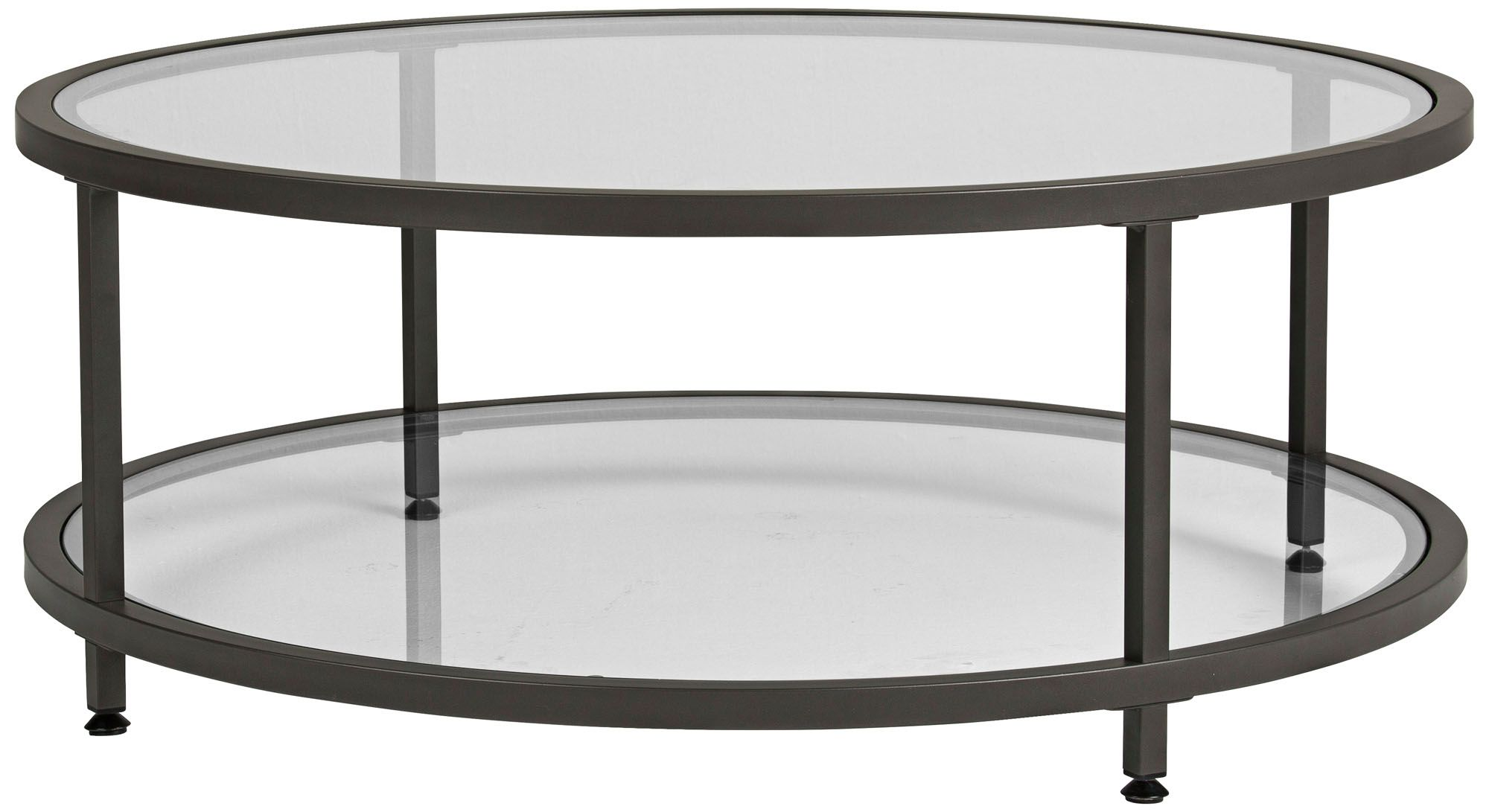 studio designs 38 wide glass coffee table