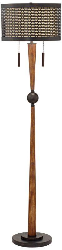 Franklin Iron Works Hunter Floor Lamp - #9M634   Lamps Plus