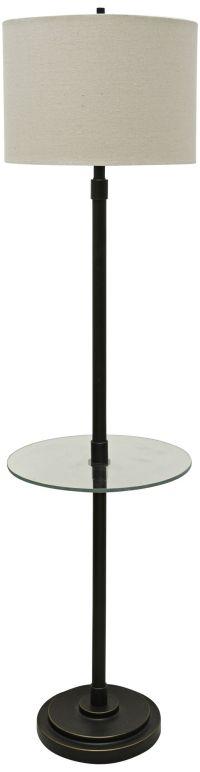 Seneca Bronze Twin Arm Gooseneck Floor Lamp - #1Y460 ...