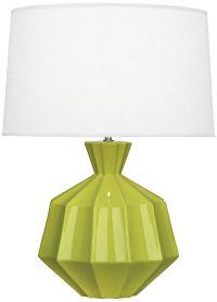 Robert Abbey Orion Apple Green Ceramic Table Lamp - #9R813 ...