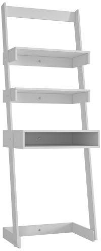 Urbane Carpina White Ladder Desk - #9T917 | Lamps Plus