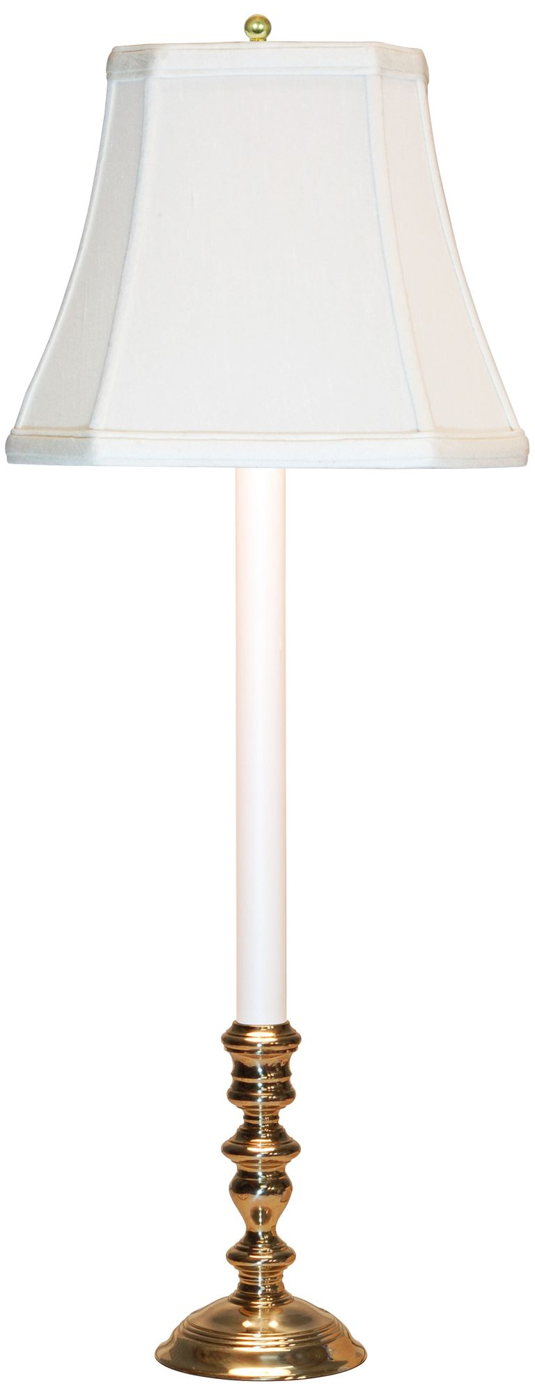 Brookwood Candlestick Buffet Table Lamp with Off