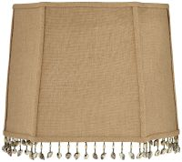 Shell and Bead Tassel Lamp Shade 10/14x12/16x12 (Spider ...