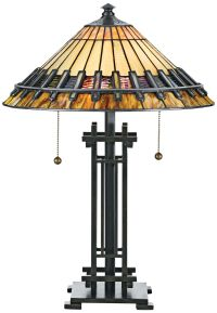 Quoizel Chastain Tiffany-Style Table Lamp - #F6420 | Lamps ...