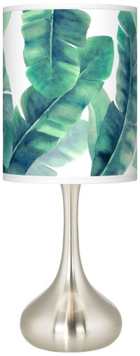 Guinea Giclee Droplet Table Lamp - #K3334-1X225   Lamps Plus