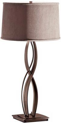 Hubbardton Forge Almost Infinity Steel Table Lamp - #X0343 ...