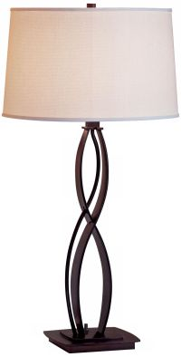 Hubbardton Forge Almost Infinity Bronze Table Lamp - # ...