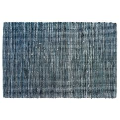 Denim Bean Bag Chair Accent Chairs Ashley Furniture 8 X 10' True Blue Rag Rug | The Land Of Nod