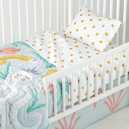 Marine Themed Toddler Bedding