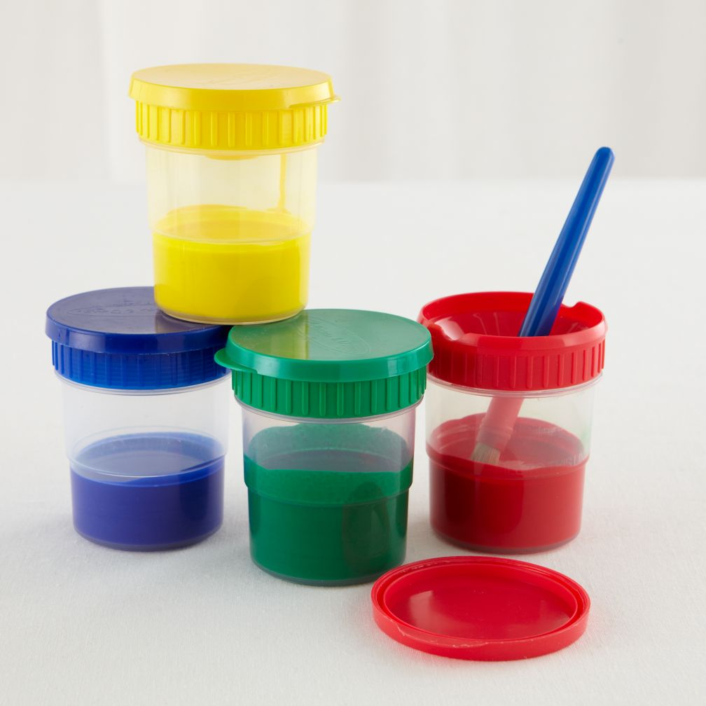 Melissa and Doug Paint the Town Paint Cups Set of 4