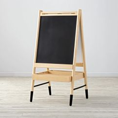 Modern Nursery Rocking Chair Zero Gravity Table Kids Art Easel | The Land Of Nod