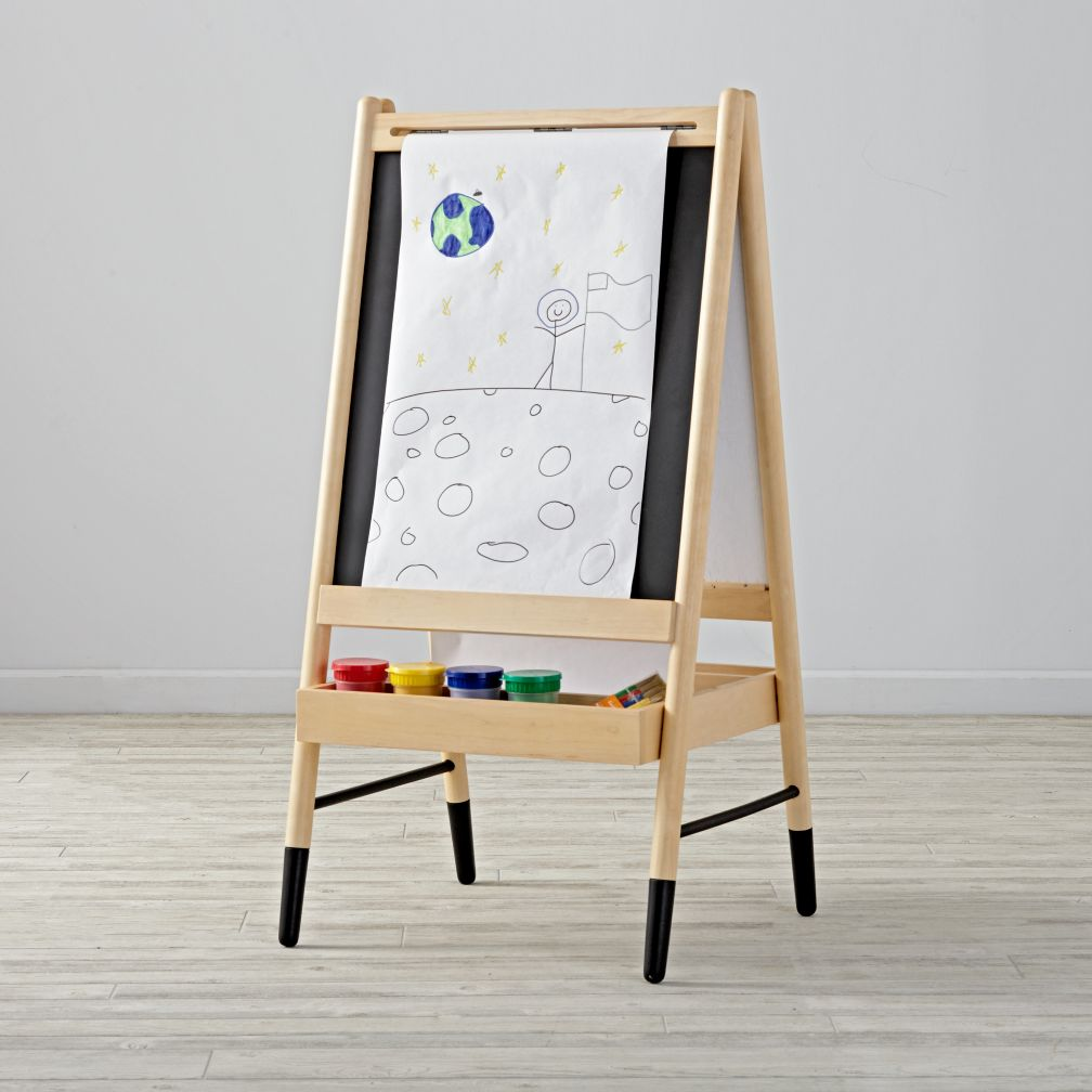 rocking bag chair bistro dining chairs uk artsy easel | the land of nod