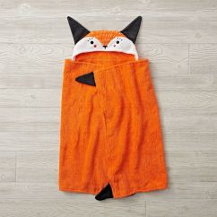 Rocking Bag Chair P Pod Accessories Fox Petting Zoo Hooded Towel | The Land Of Nod