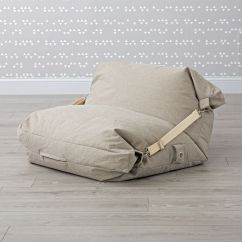 Crate And Barrel Rocking Chair Uchida Japanese Folding Z Adjustable Light Grey Bean Bag | The Land Of Nod