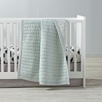 Cotton Candy Crib Bedding (Mint) | The Land of Nod