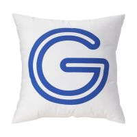 'P' Bright Letter Throw Pillow | The Land of Nod
