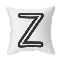 'Z' Bright Letter Throw Pillow | The Land of Nod