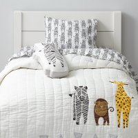Savanna Toddler Bedding (Zebra) | The Land of Nod