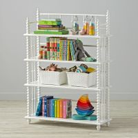 Jenny Lind Bookcase (White) | The Land of Nod