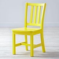 White Parker Kids Play Chair