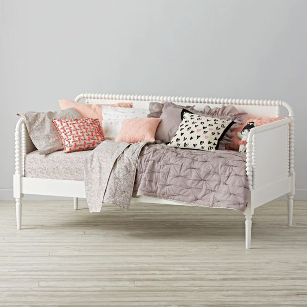 Jenny Lind Kids Daybed White Land Of Nod