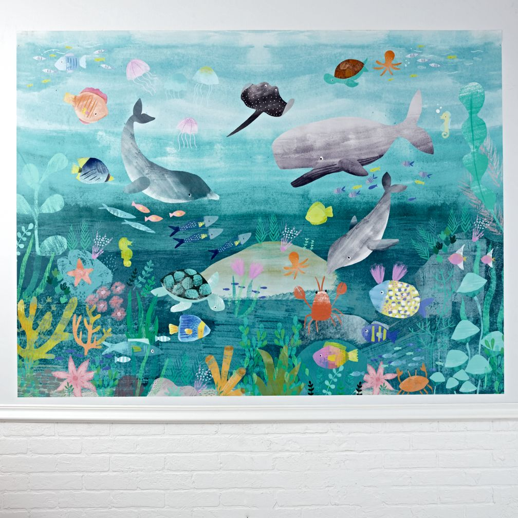 Under The Sea Mural Wall Decal The Land Of Nod