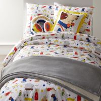 Kids Bedding with Dogs and Puppies - TKTB