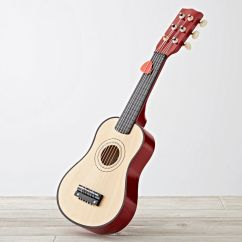 Personalized Kids Rocking Chair Foam Folding Bed Ikea Sale Wooden Toy Guitar | The Land Of Nod