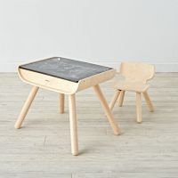 Wooden Play Table & Chair Sets | The Land of Nod