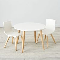 Wooden Play Table & Chair Sets