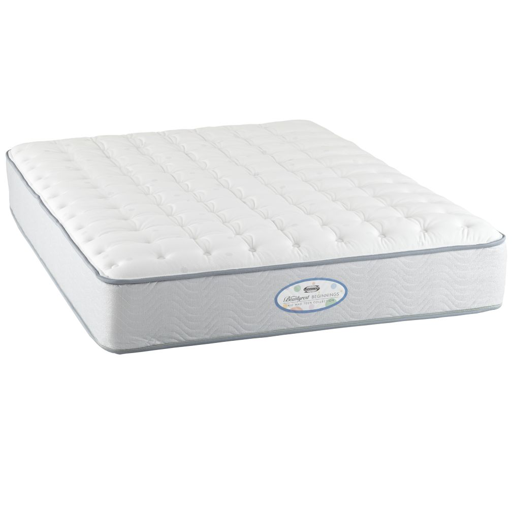 Twin Simmons Beautyrest  Mattress  The Land of Nod