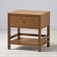 Taylor Walnut Nightstand | The Land of Nod