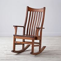 Classic Wooden Rocking Chair for Nursery | The Land of Nod