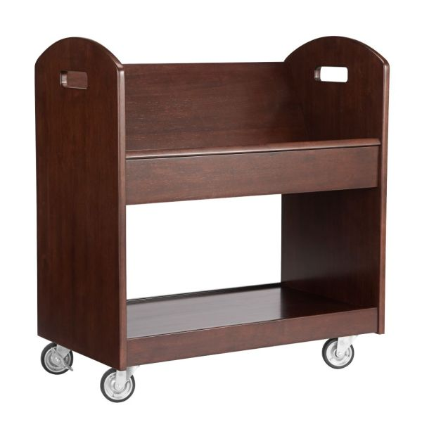 Local Branch Library Cart White The Land of Nod